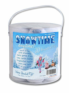 Have an indoor snowball fight at your Frozen party.