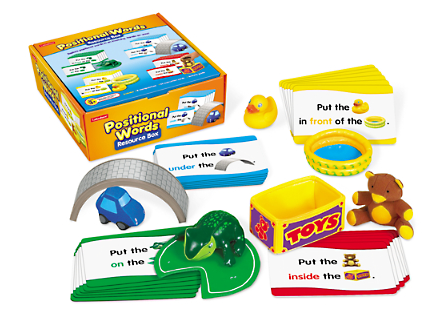 the playful otter positional word resource box