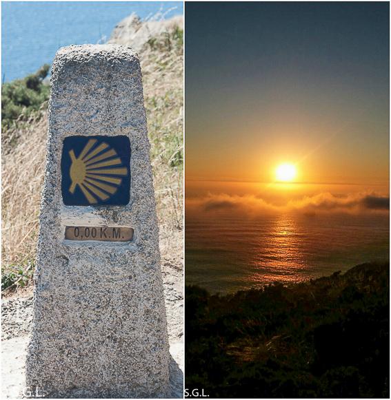 Atardecer en Finisterre. Roadtrip Costa Da Morte. Galicia