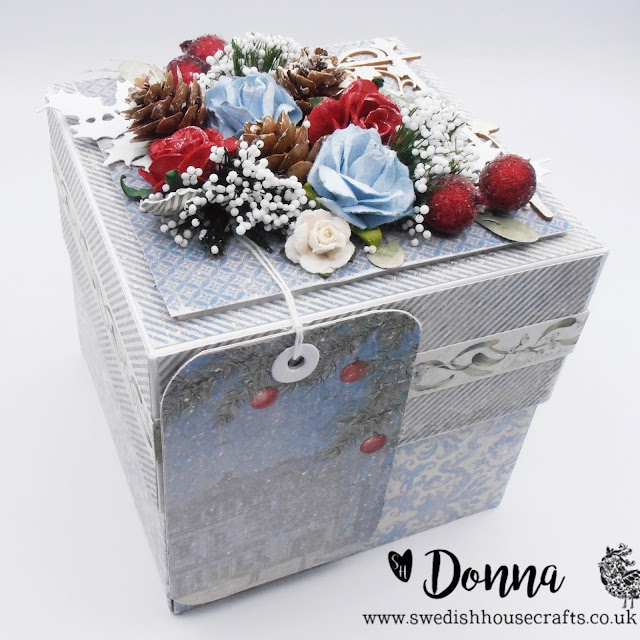 Winter Exploding Box | By Donna