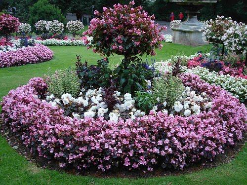 Bonitos jardines y paisajes for Decoracion de canteros y jardines