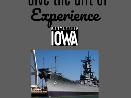 Give the Gift of Experience: Battleship Iowa