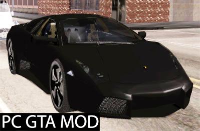 Free Download Lamborghini Reventon  Mod for GTA San Andreas.