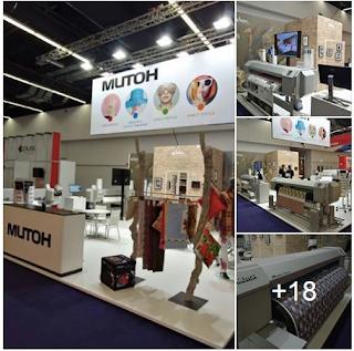 HeimTextil fuarında Mutoh'tan yeni Sublimasyon baskı makinesi...