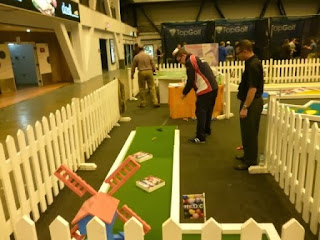 UrbanCrazy's Signature Course at the London Golf Show at Earl's Court