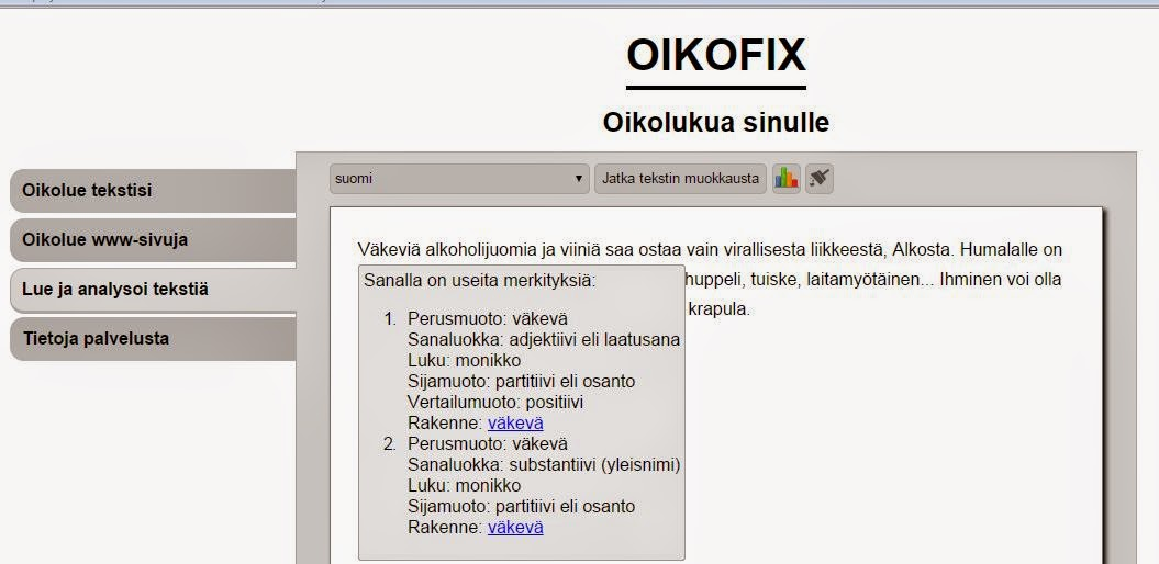 8804358c2d18 Webvoikko ja Oikofix | Oppitori - JAA somessa