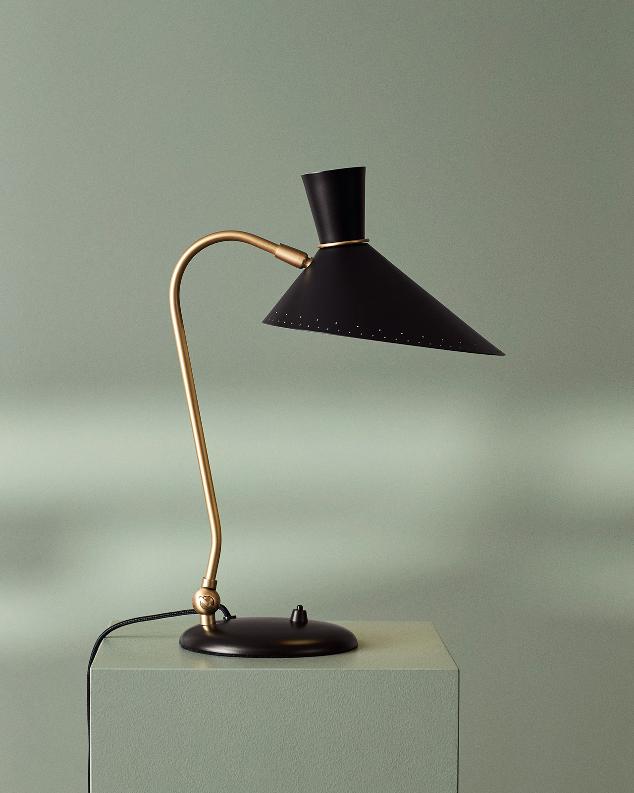 Nordic lighting Bathroom Warm Nordic Bloom Table Lamp In Black Noir Originally Designed In 1950 By Svend Aage Holmsørensen Chinahaocom Warm Nordic Lighting Mid Mod More