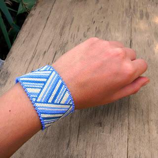 купить браслеты из бисера анабель  женский летний браслет куплю цена