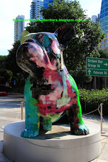 Doggy John by Julien Marinatti,  Sculpture, ION Orchard Shopping Mall, Singapore