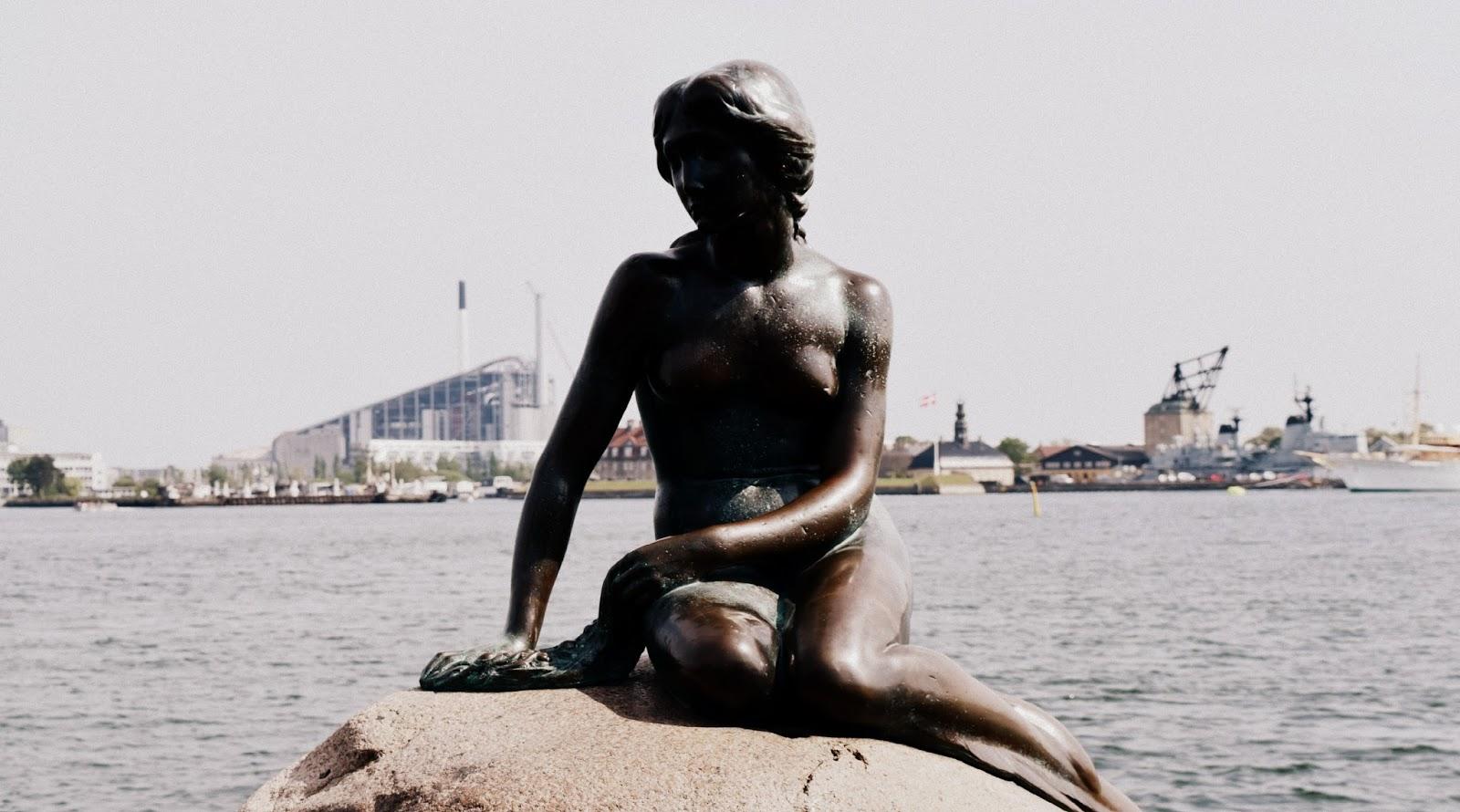 Copenhagen weekender travel post The Little Mermaid