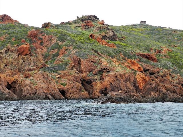 riserva naturale di scandola corsica