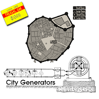 Free GM Resource: Medieval Fantasy City Generator