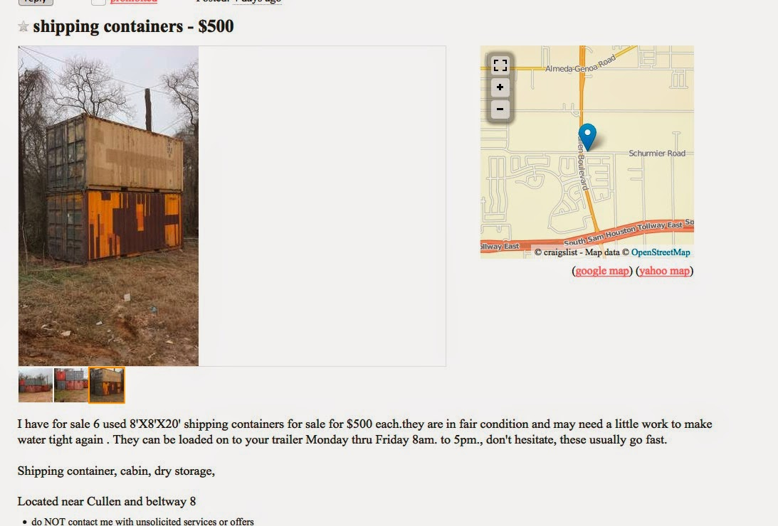 texas container homes  jesse c smith jr  consultant craigslist homes for sale houston texas