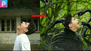 The cobra world... |Manipulation photo editing. in Picsart..