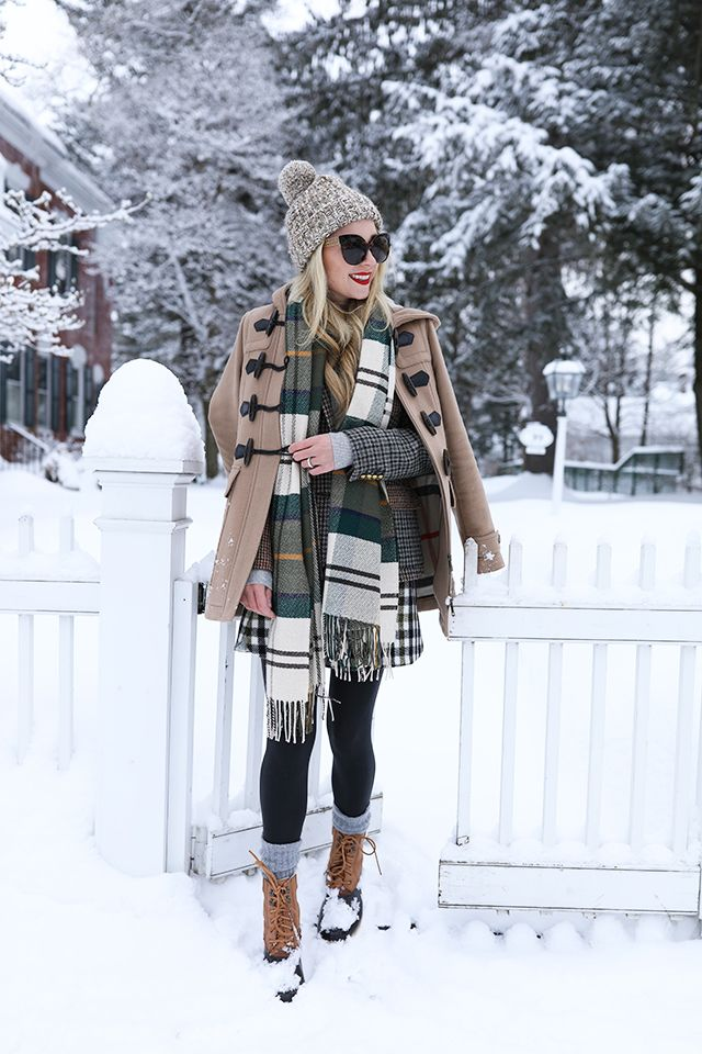 100 Ways to Wear a Burberry Scarf Outfit Winter