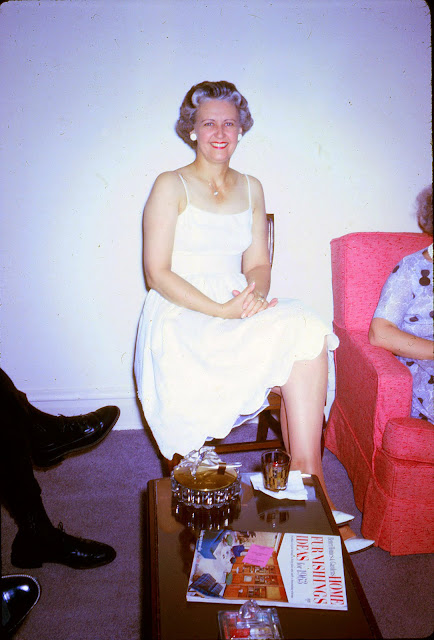 Vintage Everyday Portrait Of Middle Aged Women 1960s