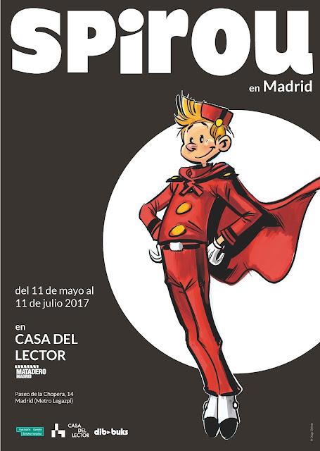 """Exposición """"Spirou en Madrid"""""""