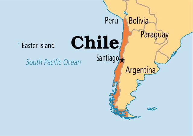 Um terremoto de 7.7 pontos na escala Richter atingiu o Sul do Chile neste domingo, informou o Serviço Geológico dos Estados Unidos