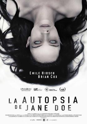 La Autopsia de Jane Doe / Poster