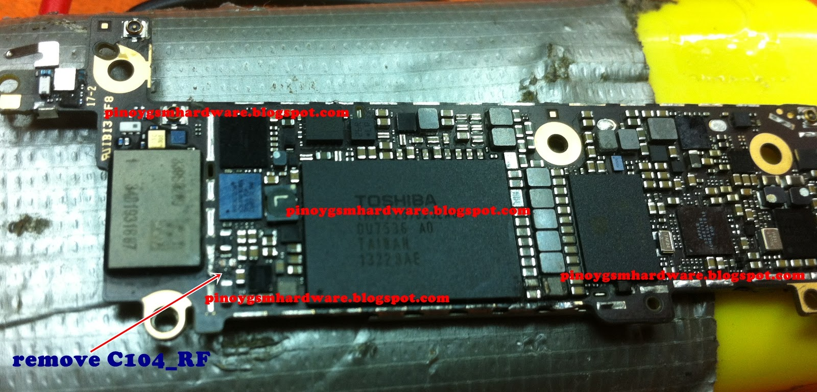 Iphone 5c Shorted Solution