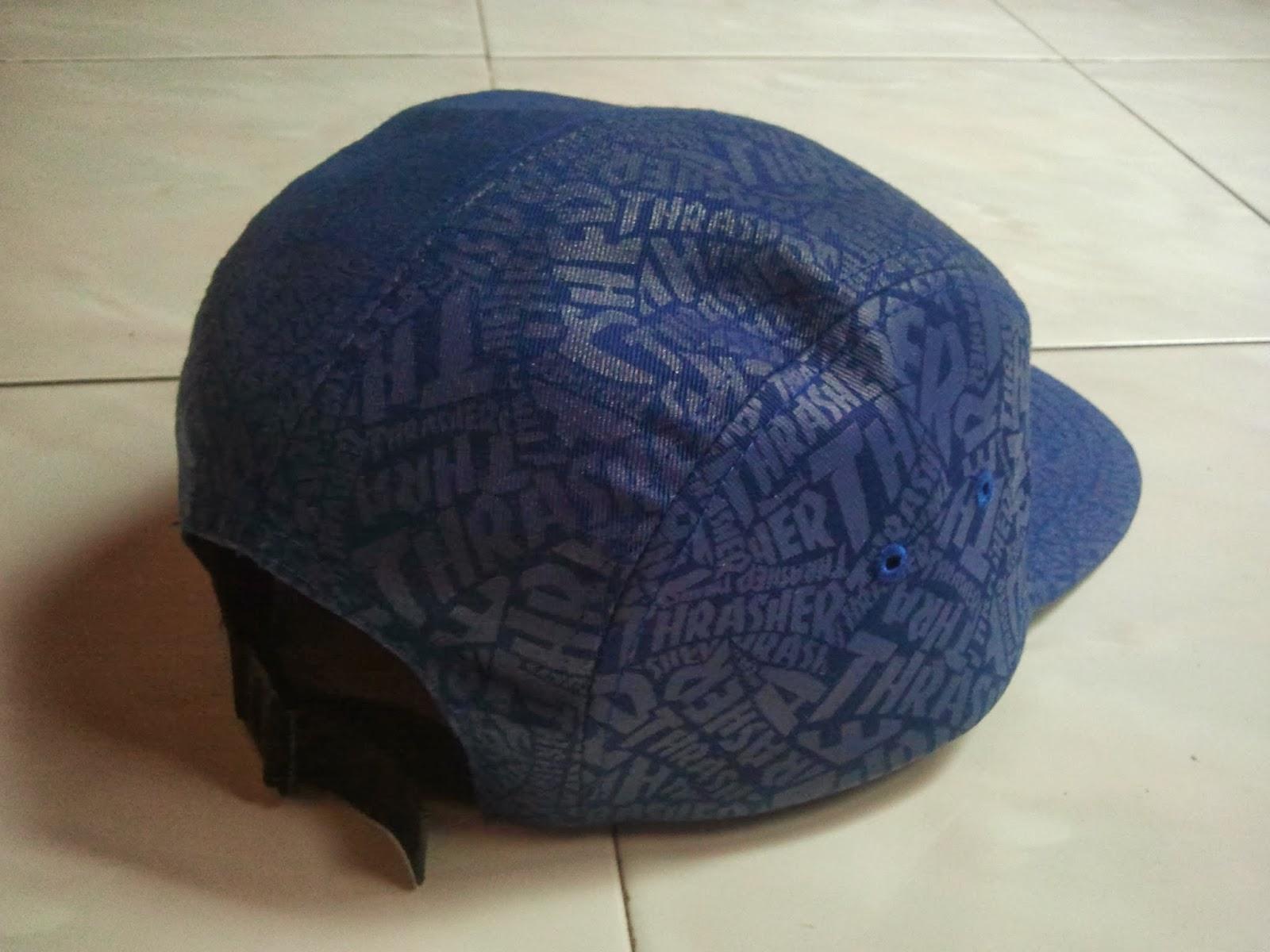 665401834e2 (WL-1905) All Over 5 Panel Cap By Thrasher Magazine Headwear