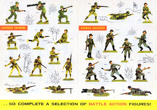 Almark; Almarks; American infantry; German Infantry; Havent; Hornby Group; Japanese Infantry; Lines Brothers; Lines Group; Mini Models; Minimodels; Pedigree Toys; Plastic Toy Figures; Plastic Toy Soldiers; Scale Figures; Small Scale World; smallscaleworld.blogspot.com; Triang Mettoy Playcraft;