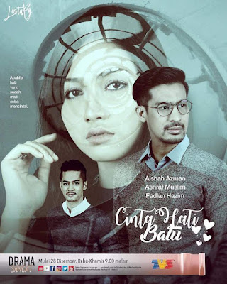 Novel One Day You'll Be Mine, Novelis Inawza Yusof, Baca Online, Novel, Drama Adaptasi Novel, Drama Cinta Hati Batu Adaptasi Novel One Day You'll Be Mine, Drama Cinta Hati Batu, Slot Lestary, TV3, Cinta, Pelakon Drama Cinta Hati Batu, Aishah Azman, Ashraf Muslim, Fadlan Hazim, Sinopsis Novel One Day You'll Be Mine, Baca Novel Online, Poster Drama Cinta Hati Batu,
