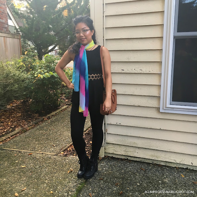 Multicolored Scarf Gamiss - Andrea Tiffany A Glimpse of Glam