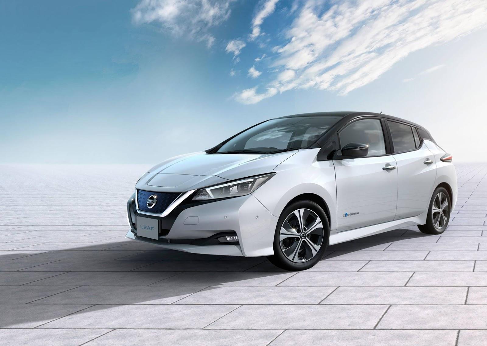 300.000 ηλεκτρικά αυτοκίνητα Nissan LEAF πουλήθηκαν μέχρι σήμερα