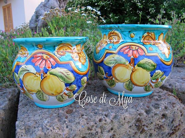 Cachepot ceramica