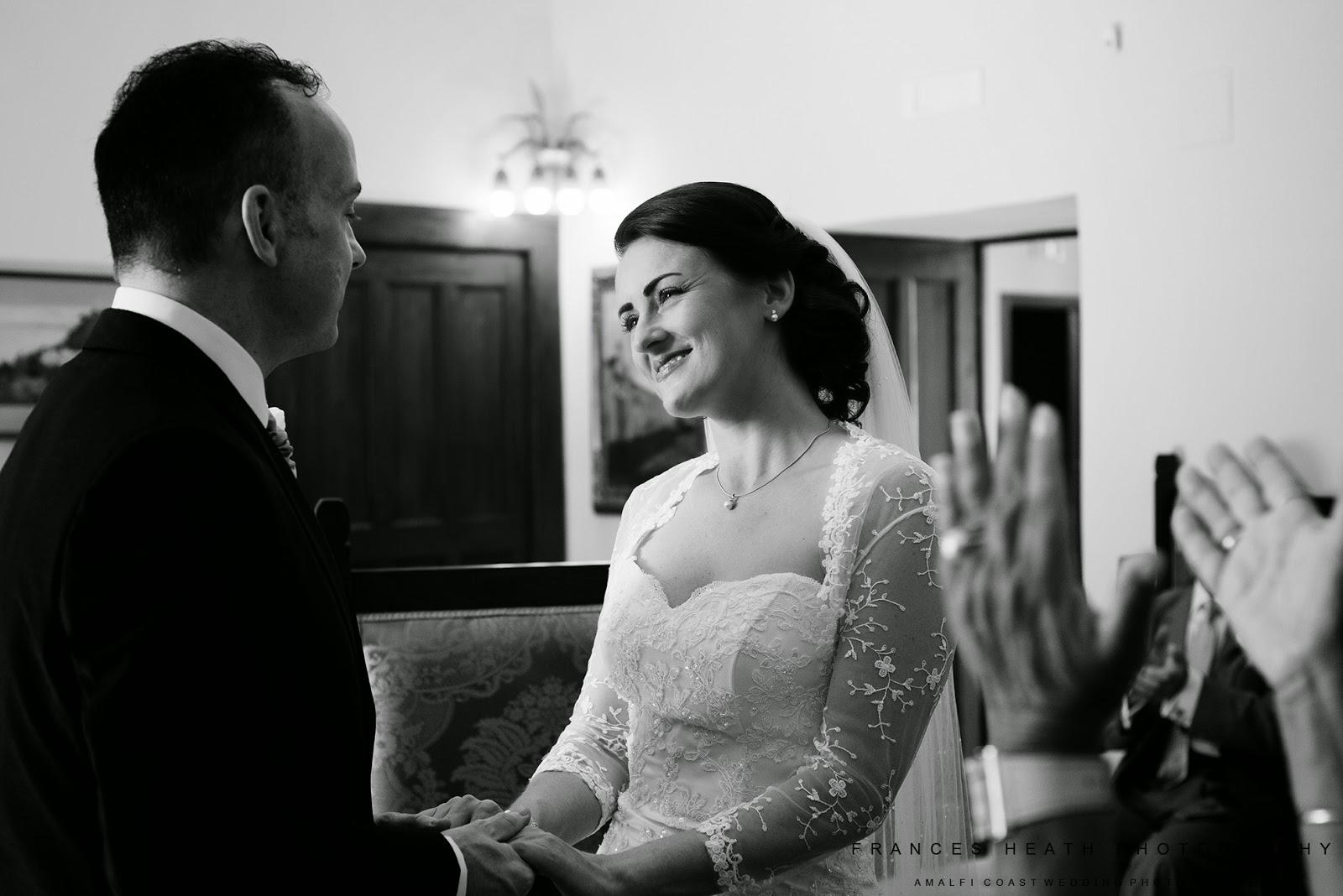 Wedding ceremony in Ravello