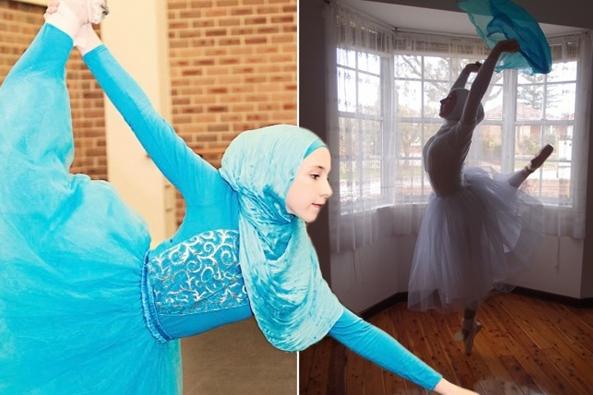 Salahkah Aku, Bila Menjadi Balerina Berhijab Pertama di Dunia