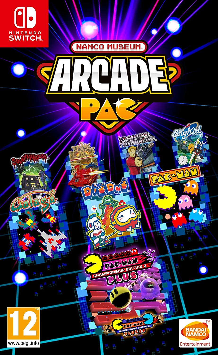 NAMCO Museum + Arcade Pac Switch NSP