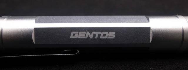 GENTOS(ジェントス)Floox(フルークス)LU-190 ペンライトlogoロゴ部