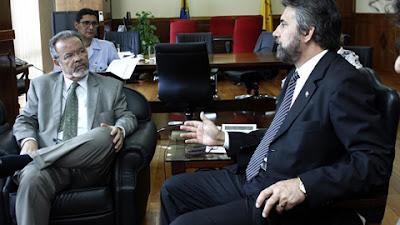 Raupp pede ao Ministro da Defesa ações na região de fronteira em Rondônia