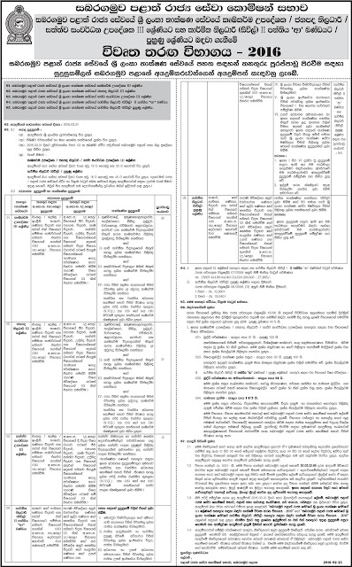 Vacancies - AI - US Officer - Animal-eighth Grade III Development Adviser - Technical Officer (Civil) - Provincial Public Service Commission