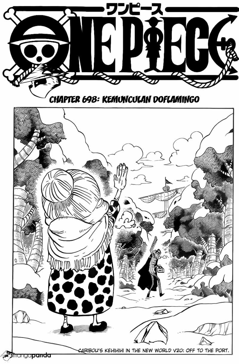 03 One Piece 698   Kemunculan Dolamingo