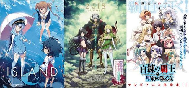 Rekomendasi Anime Summer 2018 Terbaik dan Terbaru Wajib Ditonton