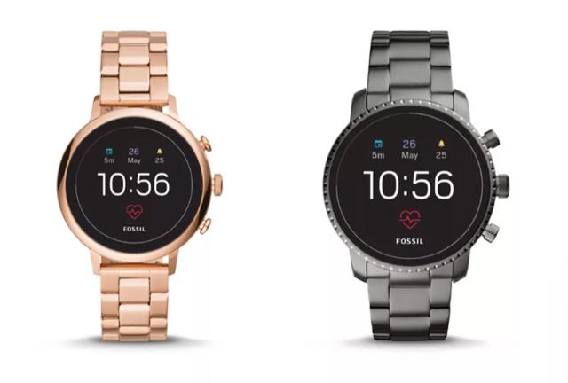 Fossil lanza relojes con un monitor cardíaco, NFC y GPS