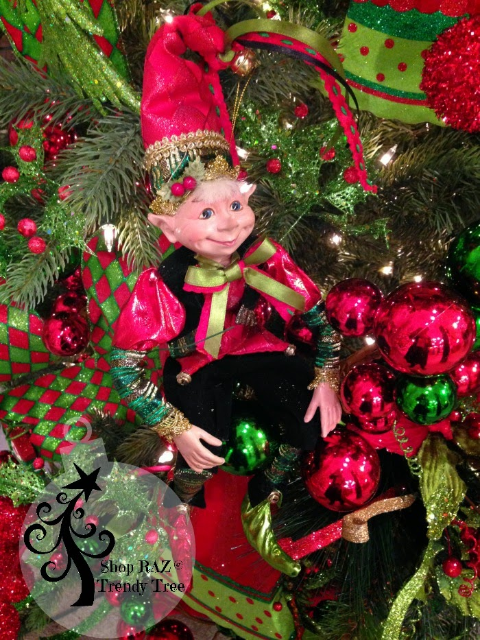 "RAZ 16"" Elf  at Trendy Tree"