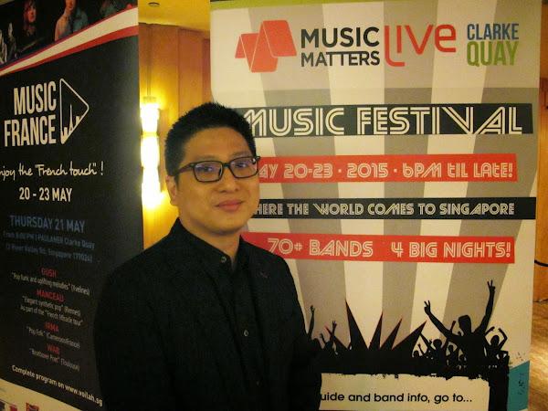 Spotify亞洲唱片關係總監Chee Meng Tan