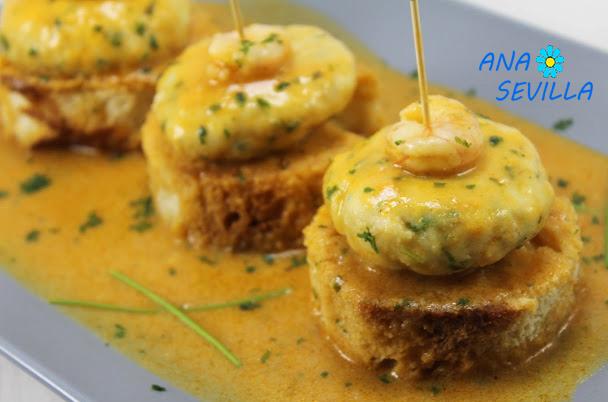 Hamburguesas de merluza en salsa Thermomix Ana Sevilla
