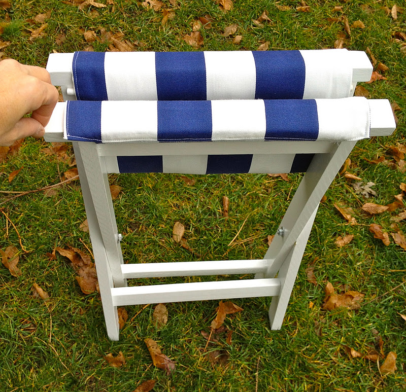 That S My Letter Diy Folding Stool With Canvas Seat