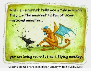 Flying Monkey Drawing Narcissistic Mothers Recruit Flying Monkeys by Playing the Victim Quote by Gail Meyers