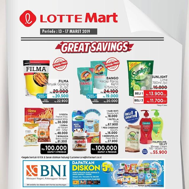 #LotteMart - #Promo #Katalog Weekend Periode 13 - 17 Maret 2019