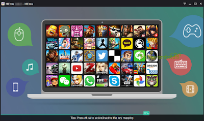 Download  Memu Android Emulator 5.6.1.1