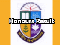 NU Honours 2nd Year Result 2017