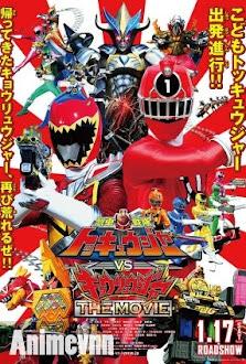 Ressha Sentai ToQger vs Kyoryuger The Movie -  2015 Poster