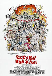 Rock 'n' Roll High School Poster