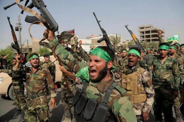 Ribuan Milisi Syiah Bersiap Diri di Barat Mosul